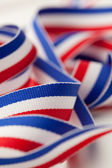 Red White and Blue Ribbon — Stockfoto