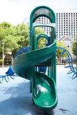 Playground Slides — Stock Photo