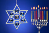 Star of David — Stock Photo