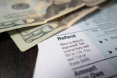 Tax Refund — Stock Photo