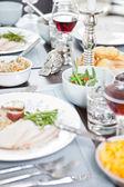 Thanksgiving-essen — Stockfoto