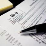 W9 Tax Form — Stock Photo #48627079
