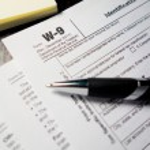 W9 Tax Form — Stock Photo #48627123