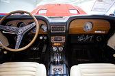 Intérieur de voiture vintage — Photo