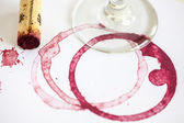 Wine Stain — Stockfoto