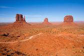 Monument valley — Stock fotografie