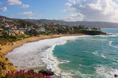 Laguna Beach, Crescent Cove — Stock Photo