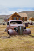 Bodie a ghost town — 图库照片