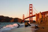 Golden gate brug — Stockfoto