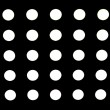 High Resolution Black Fabric Black Polka Dots Texture and Background — Stock Photo #40975711