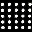 High Resolution Black Fabric Black Polka Dots Texture and Background — Stock Photo