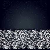 Abstract Lace Seamless Pattern. — Stock Vector