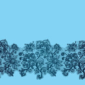 Abstract Lace Ribbon Seamless Pattern. — Vector de stock