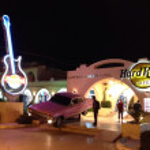 Hard Rock Cafe. Egypt. Hurghada. Feb. 2014 — Stock Photo #41643799