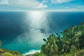 Ponta do Pargo ocean view — Stock Photo