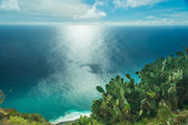 Ponta do Pargo ocean view — Stock Photo