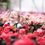 Smiling little gardener — Stock Photo #40788309
