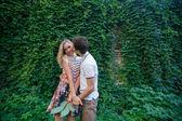 Couple kissing — Стоковое фото
