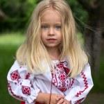 Little ukrainian girl Ulya — Stock Photo #48991373