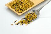 Bee pollen grains — Stock Photo