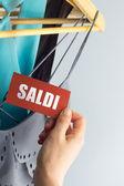 Saldi tags — Stockfoto