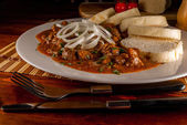 Czech goulash — Stock Photo
