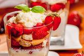 Trifle cake — Stock Photo