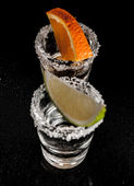 Gold tequila — Stockfoto