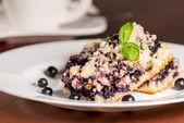 Blueberry pie — Stock Photo