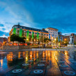 Piccadilly gardens Manchester UK — Stock Photo #40632035