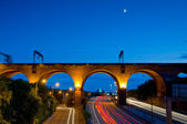 Viaduct Stockport Manchester — Stock Photo