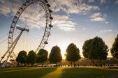 London Eye England — Stock Photo