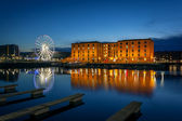 Albert dock, liverpool England — Stock Photo