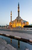 Al-nuur-moschee, sharjah vereinigte arabische emirate. — Stockfoto