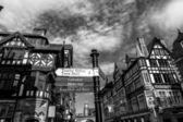 Chester shopping centre — Stock Photo