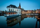 Bruges Restaurant — Stock Photo