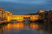 Ponte Vecchio Florence Italy — Stock Photo