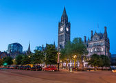 Manchester city hall — Stock Photo
