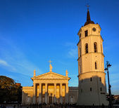 Cathedral of Vilnius Lithuania — Stock Photo