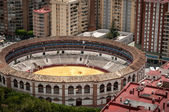 Bullring Malaga Spain — Stock Photo