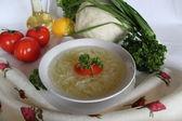 Zuppa di cavolo — Foto Stock