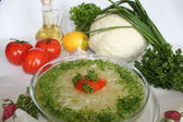 Cabbage-soup — Stock Photo