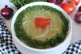 Sopa withpotatoes — Foto de Stock