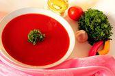 Tomato soap — Stock Photo