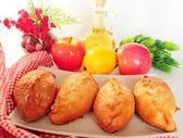 Pie with apple — Stok fotoğraf