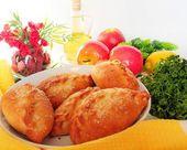 Torta con mela — Foto Stock