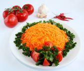 Salada de cenouras — Fotografia Stock