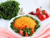 Салат из морковки — Стоковое фото