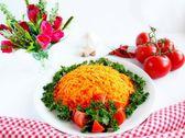 胡萝卜沙拉 — 图库照片