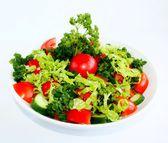黄瓜和西红柿沙拉 — Stockfoto